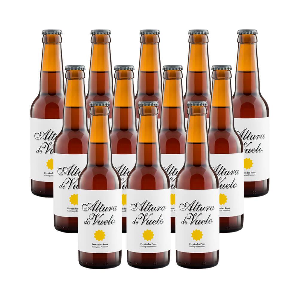 Cerveza rubia Altura de Vuelo - 12 botellas 33 cl