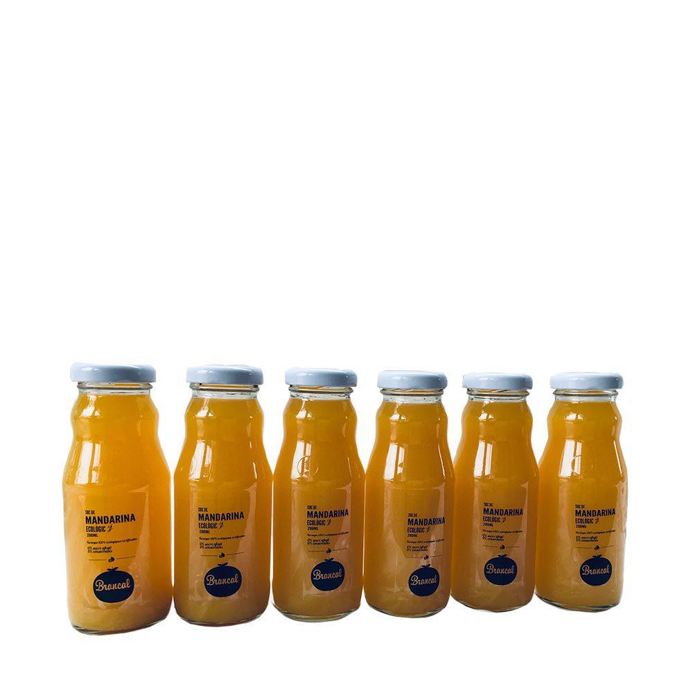 Zumo ecológico de mandarina - 6x200 ml