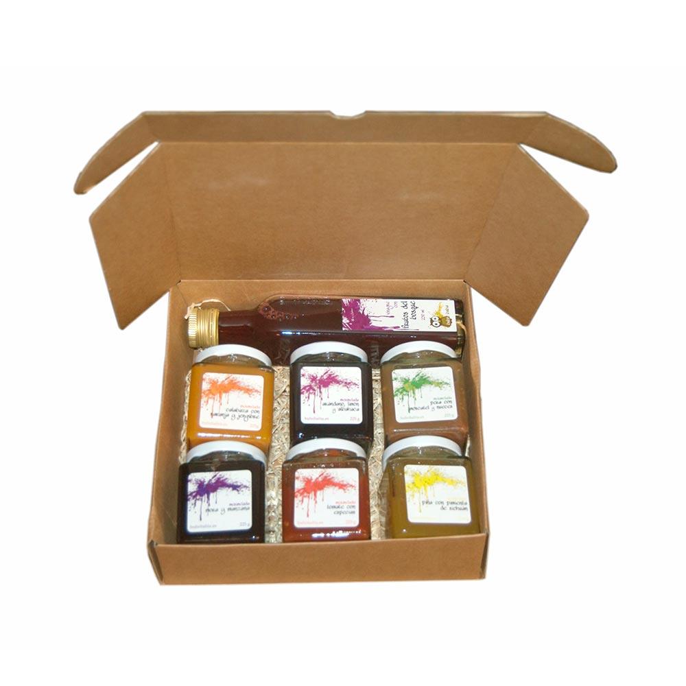 Pack degustación Covalancho - Mermelada 6x225g -Vinagre 1x250ml
