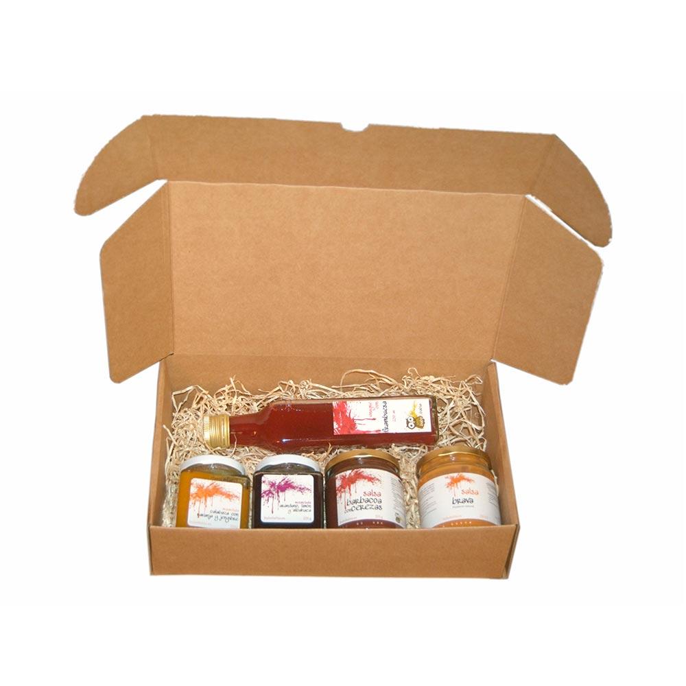 Pack degustación Las Verdes-Salsa 2x250g- Mermelada2x225g- Vinagre1x250ml