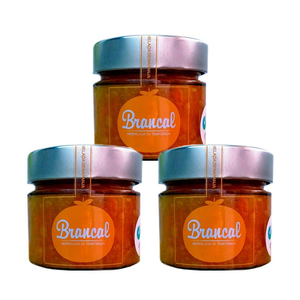 Mermelada de mandarina Brancal - 3x265 g