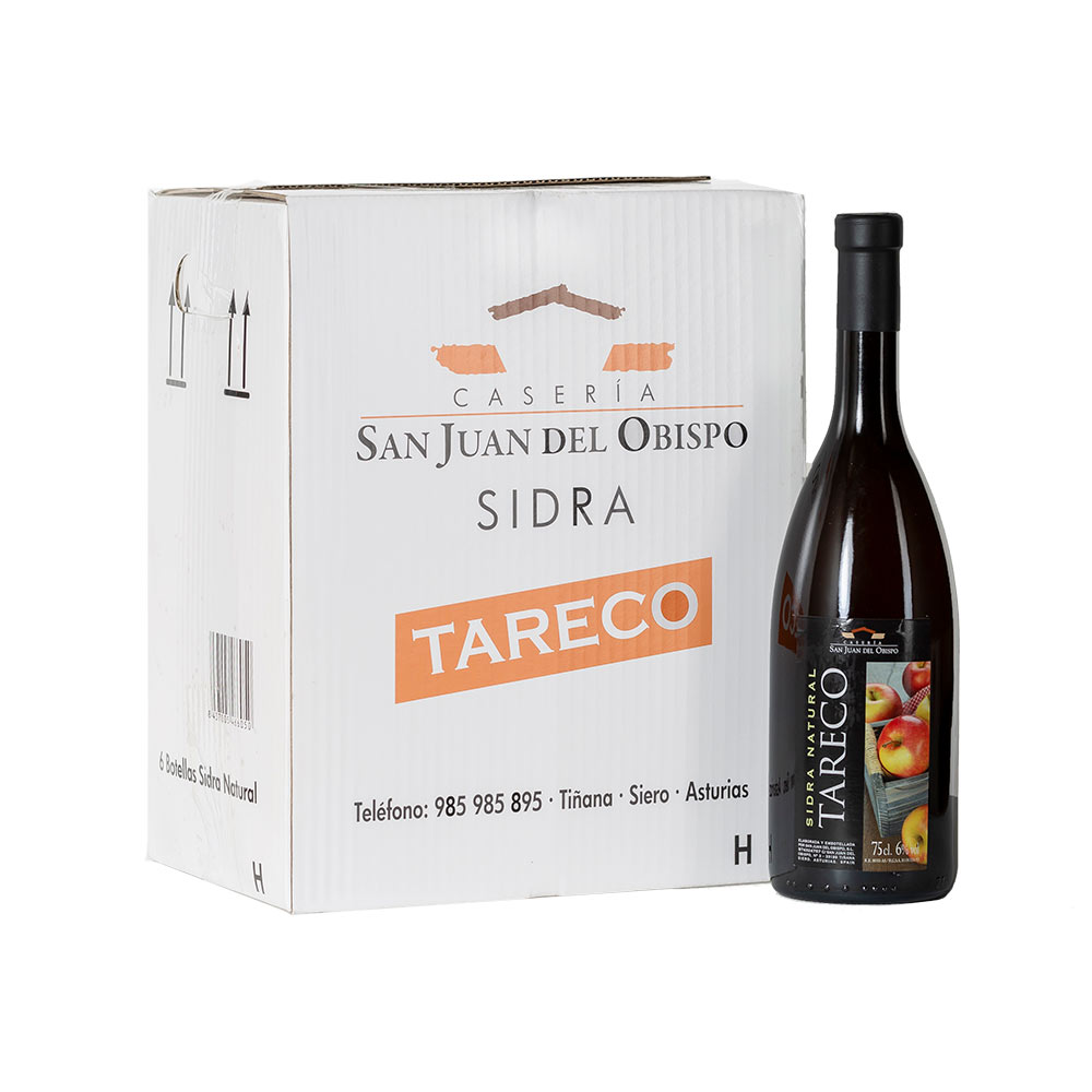 Sidra natural - 6 x 75 cl