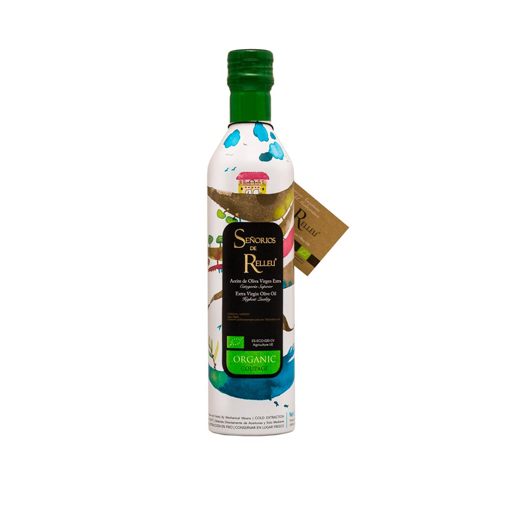Aceite de Oliva Virgen Extra Ecológico - Bio Gourmet 500 ml Coupage