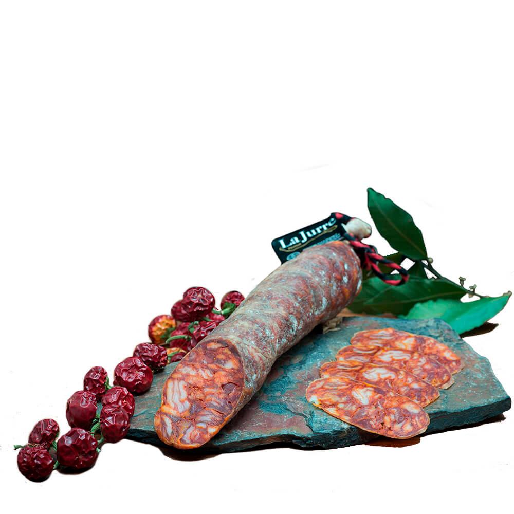 Chorizo ibérico de bellota - Media pieza