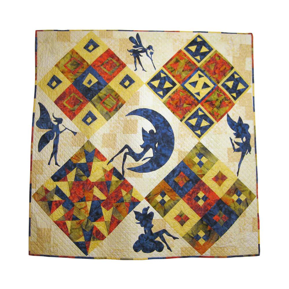 Margo Cobertor Hadas de cama de almazuelas 158x158 cm