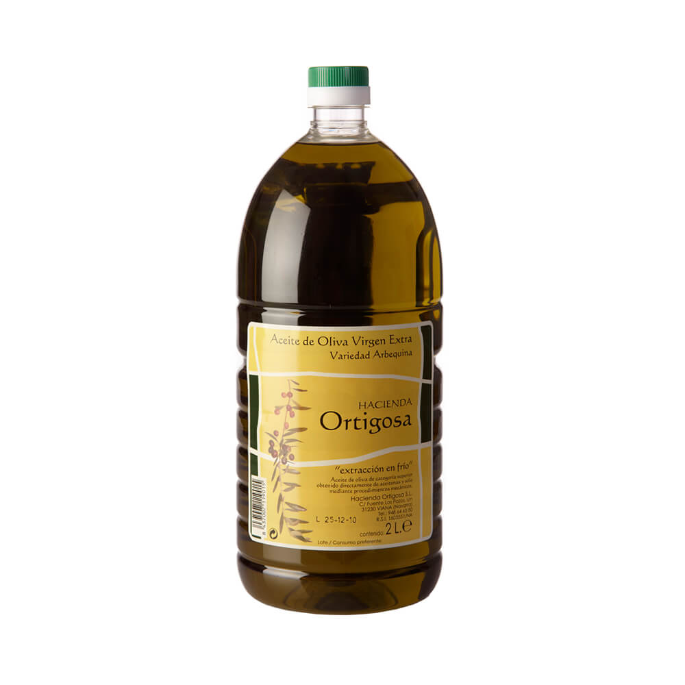 Hacienda Ortigosa Aceite de oliva virgen extra garrafa 2 litros