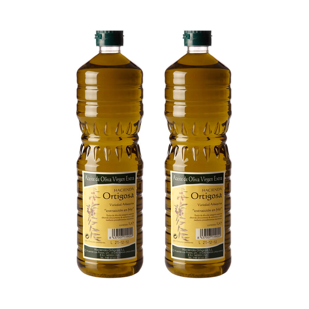 Hacienda Ortigosa Extra virgin olive oil pack 2x1 litres