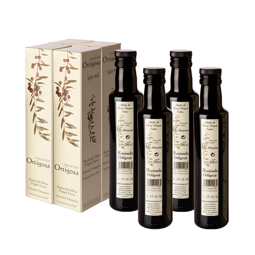 Pack aceite de oliva virgen extra 4x250 ml