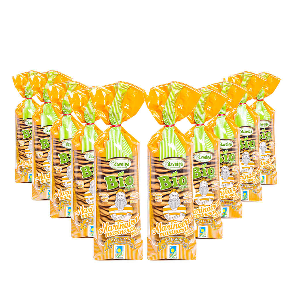 Galleta Marinera Bio Integrales - Pack 10x180 g