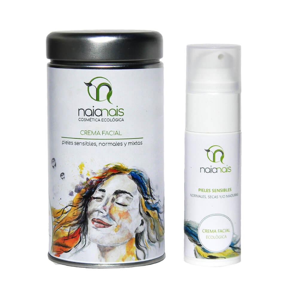 Crema facial ecológica con lata 30 ml