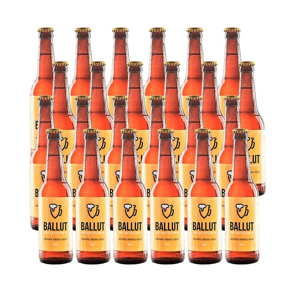 Cerveza Ballut Blond Ale - 24 botellas 33 cl