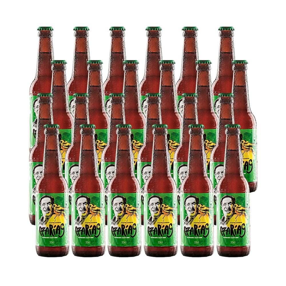 Cerveza Azarías Brown Ale - 24 botellas 33 cl