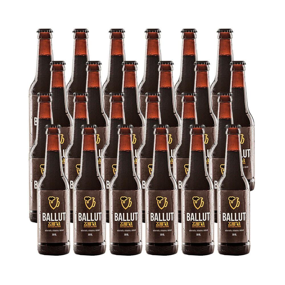 Cerveza Zaina Porter - 24 botellas 33 cl