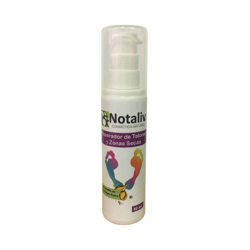 Notaliv Repairer of cracked heels and dry areas - 60 ml bottle