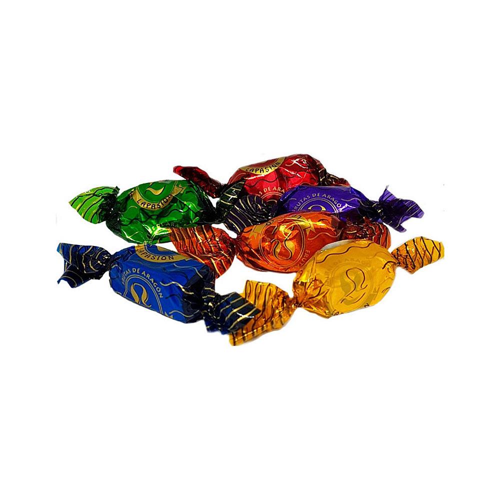 Frutas de Aragón bañadas en cobertura de chocolate 1Kg