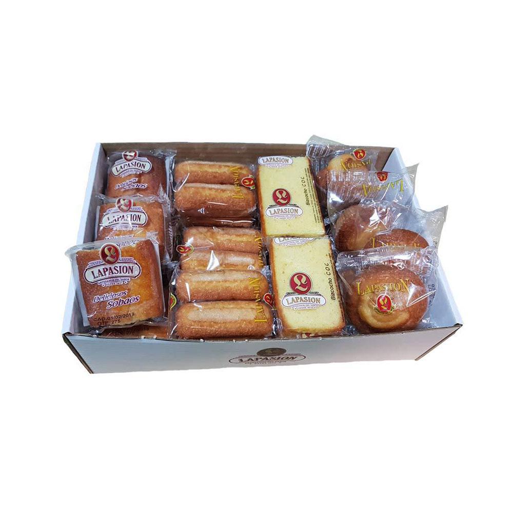 Sobaos, Magdalena larga, Bizcocho Coc y Magdalena redonda ideal para desayunos