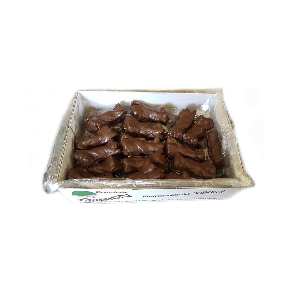 Lazos de hojaldre con chocolate 2.5 Kg