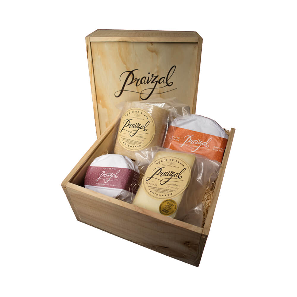 Caja de quesos variados Praizal