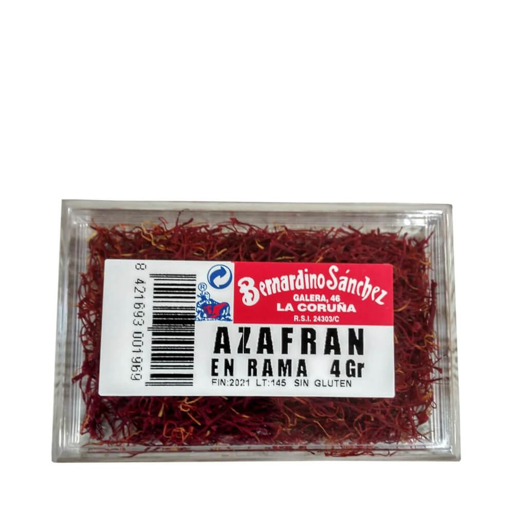 Azafrán en hebras 4 g