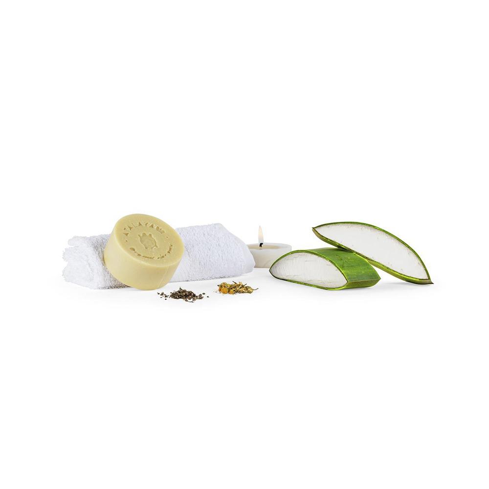 Jabón facial de aloe vera Herbal Mediterráneo
