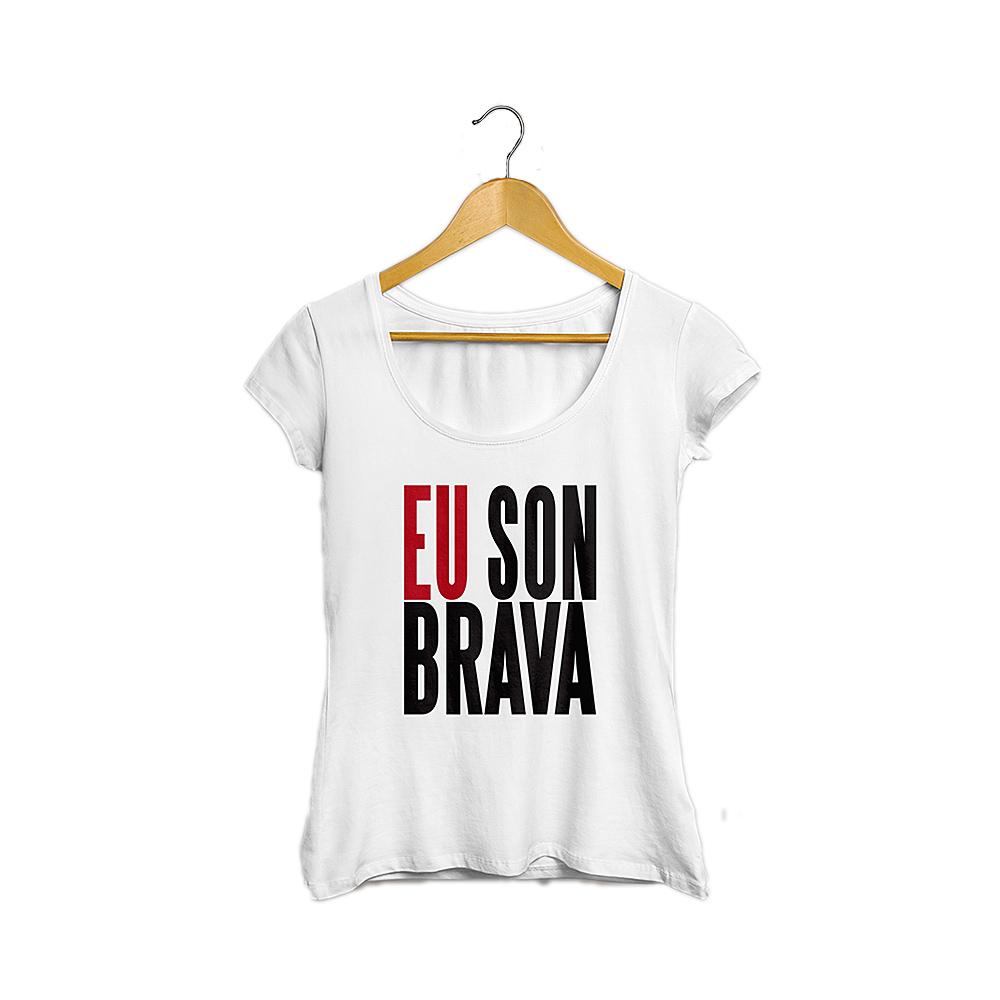 Camiseta EU SON BRAVA