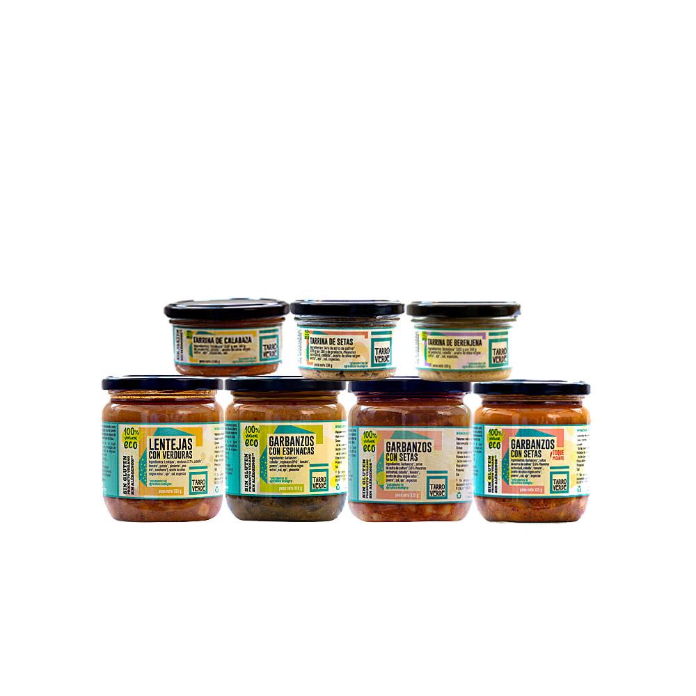 Pack degustación Tarro Verde