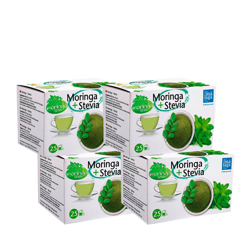 Infusión de moringa - Pack 4 cajas de 25 unidades