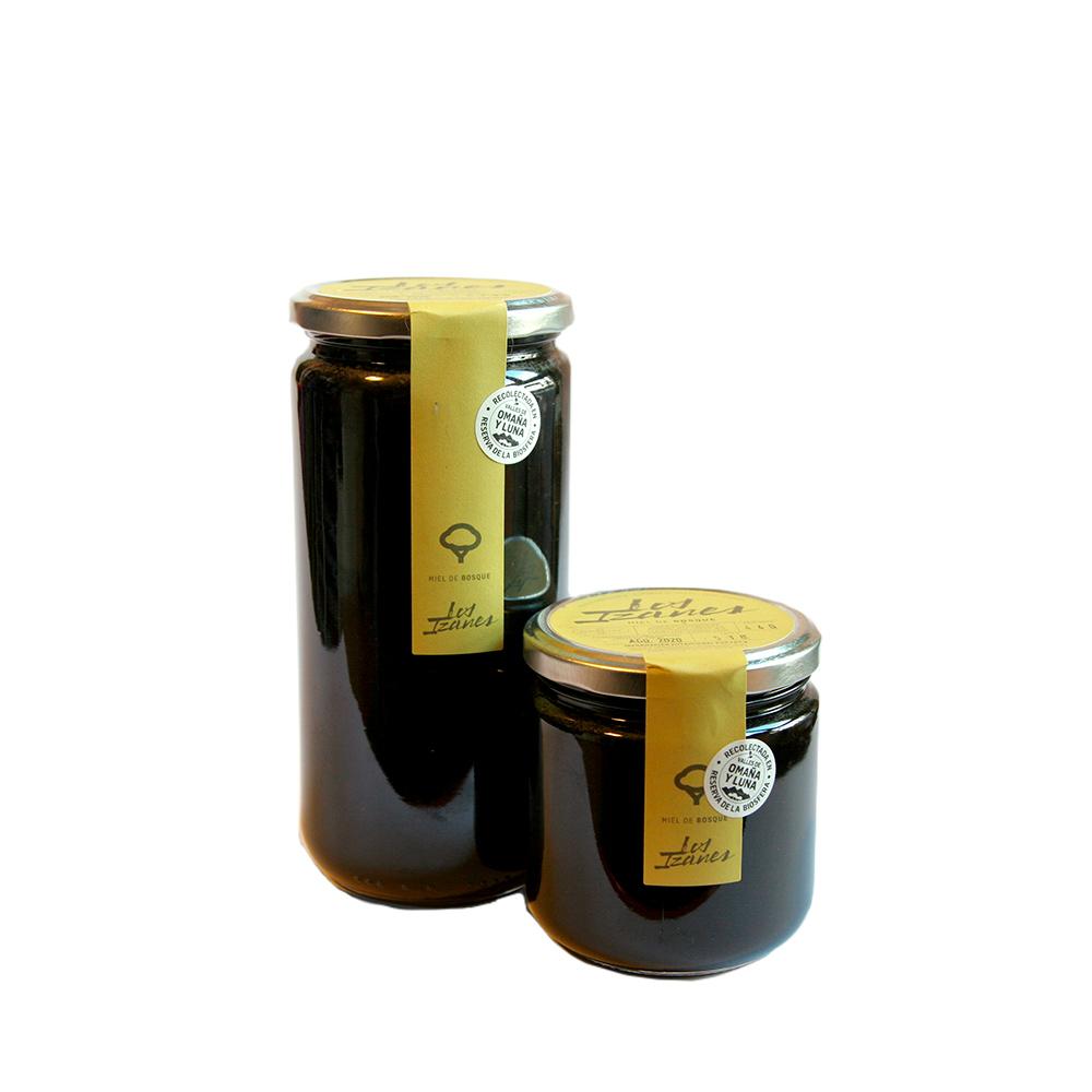 Miel de bosque Los Izanes - Tarro de 1 kg + tarro 440 g