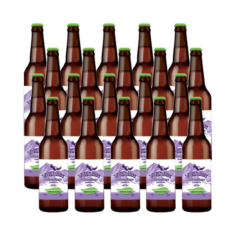 Cerveza Vulturis Cerveza Saison Alkalathem ecológica - Caja 20x33 cl