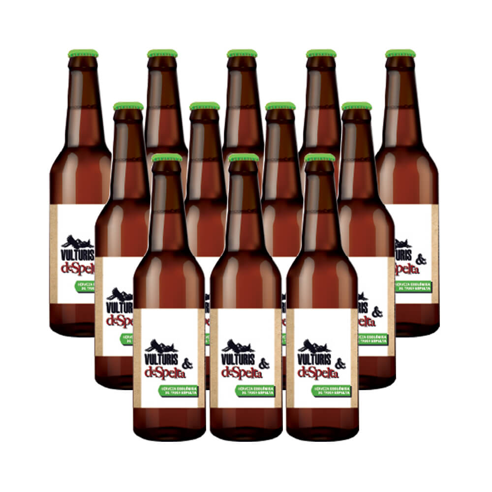 Cerveza Vulturis Cerveza Trigo Espelta -  Caja de 12x33 cl