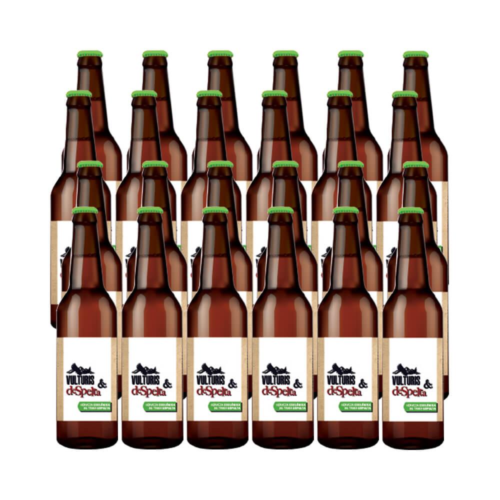 Cerveza Vulturis Cerveza Trigo Espelta - Caja 24x33 cl