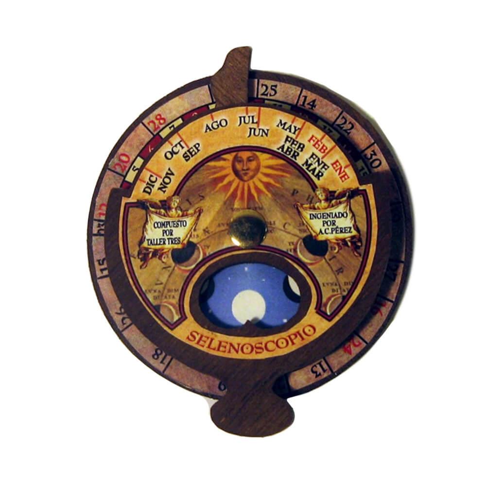 Selenoscopio de madera