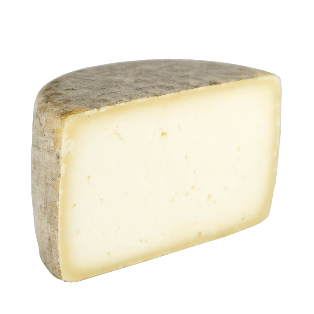 Medio queso redondo semicurado de oveja - 550 g aprox.