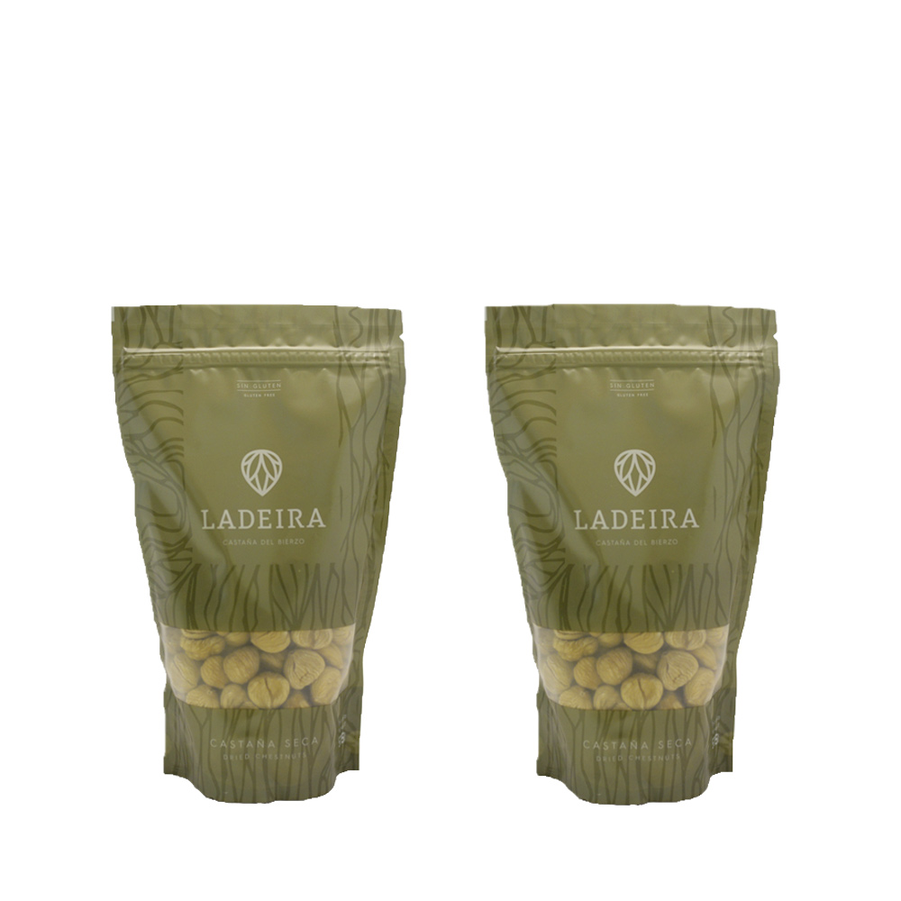 Castaña seca 515 gr Doypack (Lote de dos unidades)