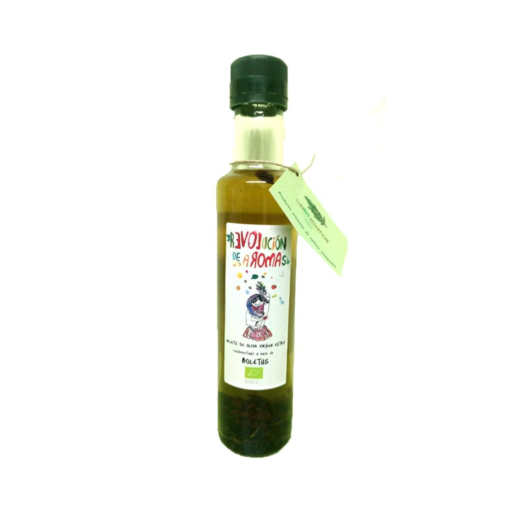 Aceite de oliva virgen extra eco. Condimentado con boletus