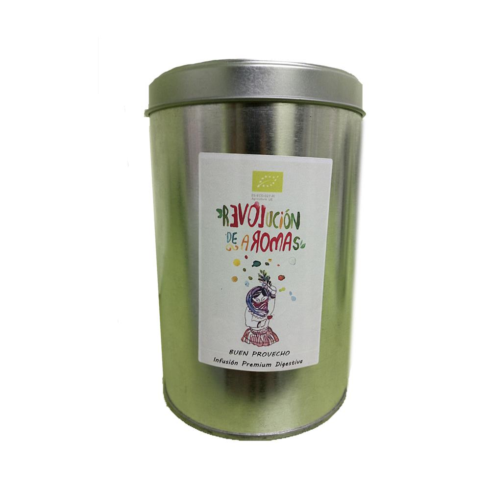 Infusión premium ecológica dulces sueños lata