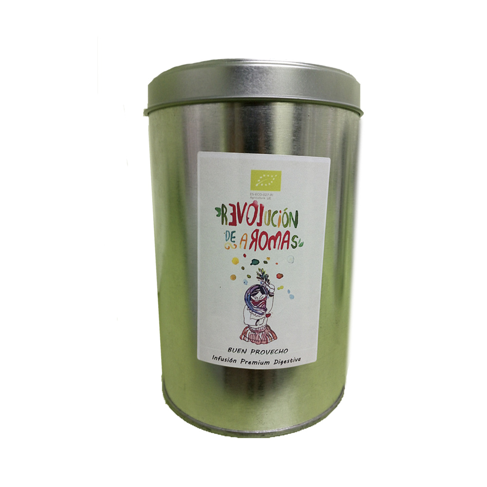Revolución de aromas Infusión premium ecológica colores de invierno lata