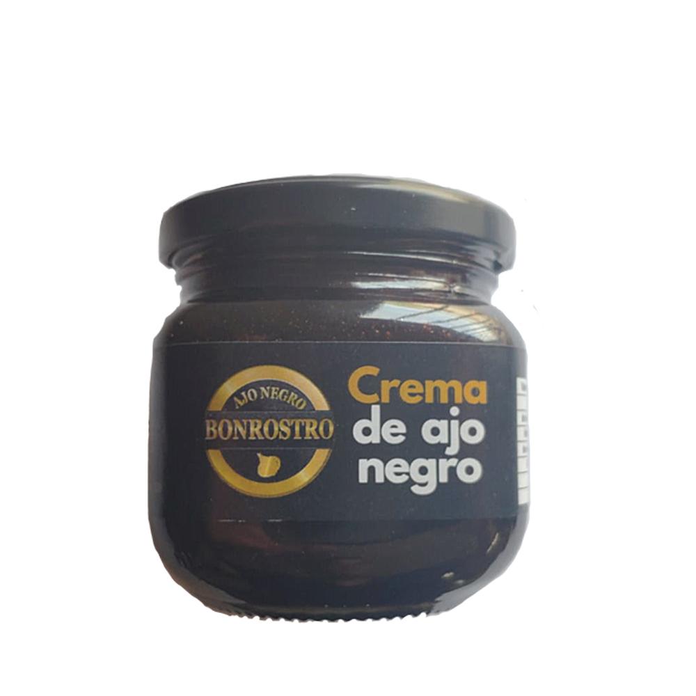 Pack gourmet compuesto de diente, sal y crema de ajo negro