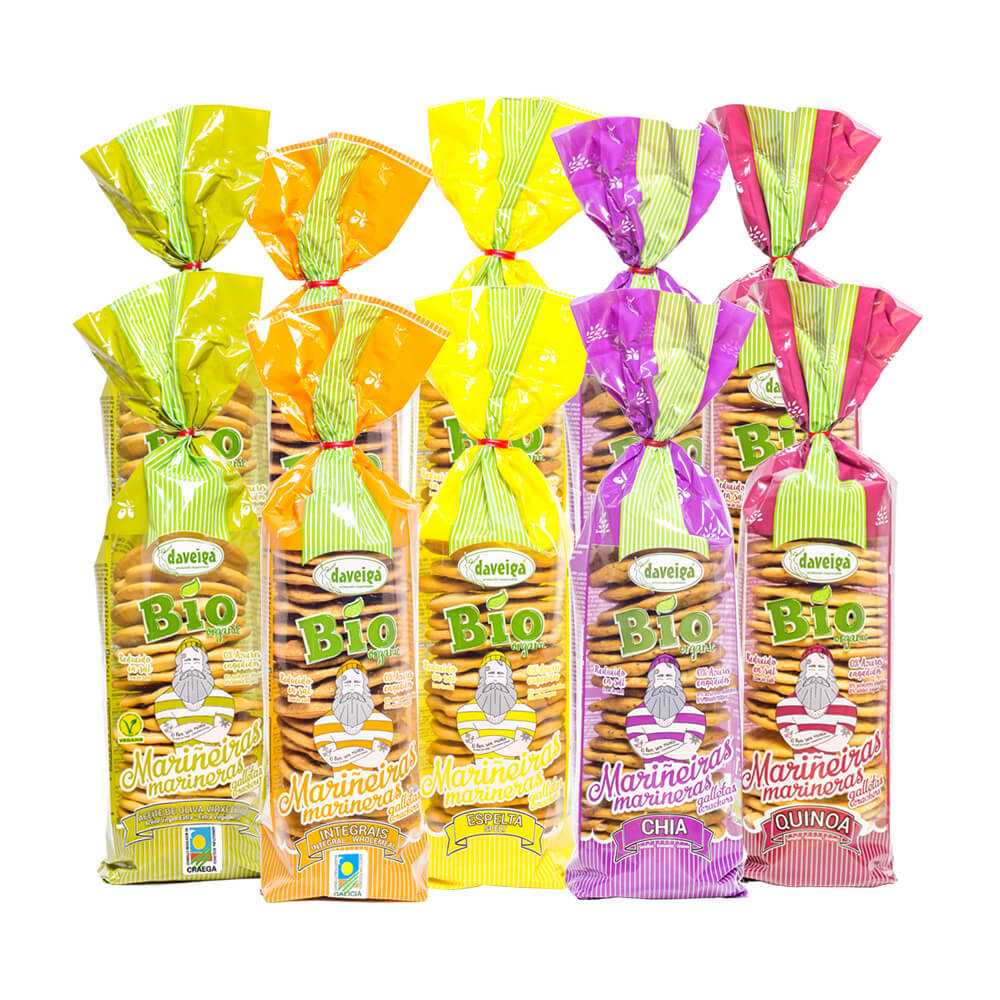 Pack galletas multireferencia - 2x5x180 g