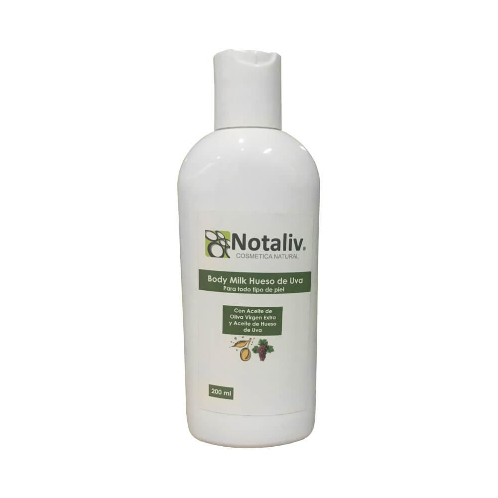 Body milk semilla de uva y aceite de oliva virgen extra 200 ml