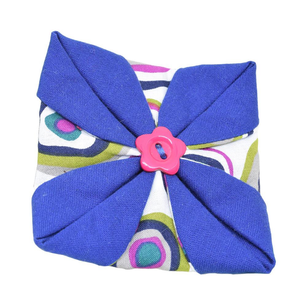 Margo Multicolored origami necklace