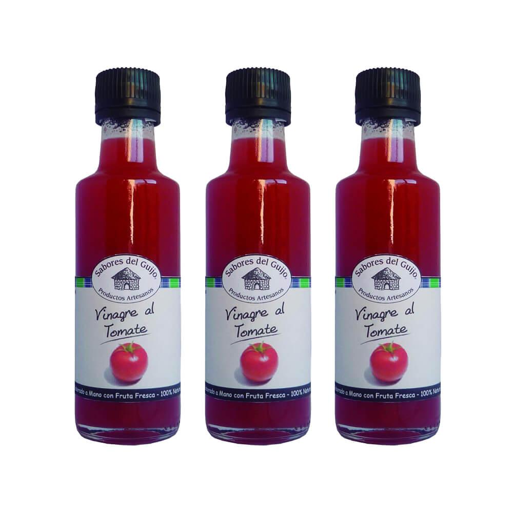 Vinagre de tomate - Pack 4 botes 100 ml