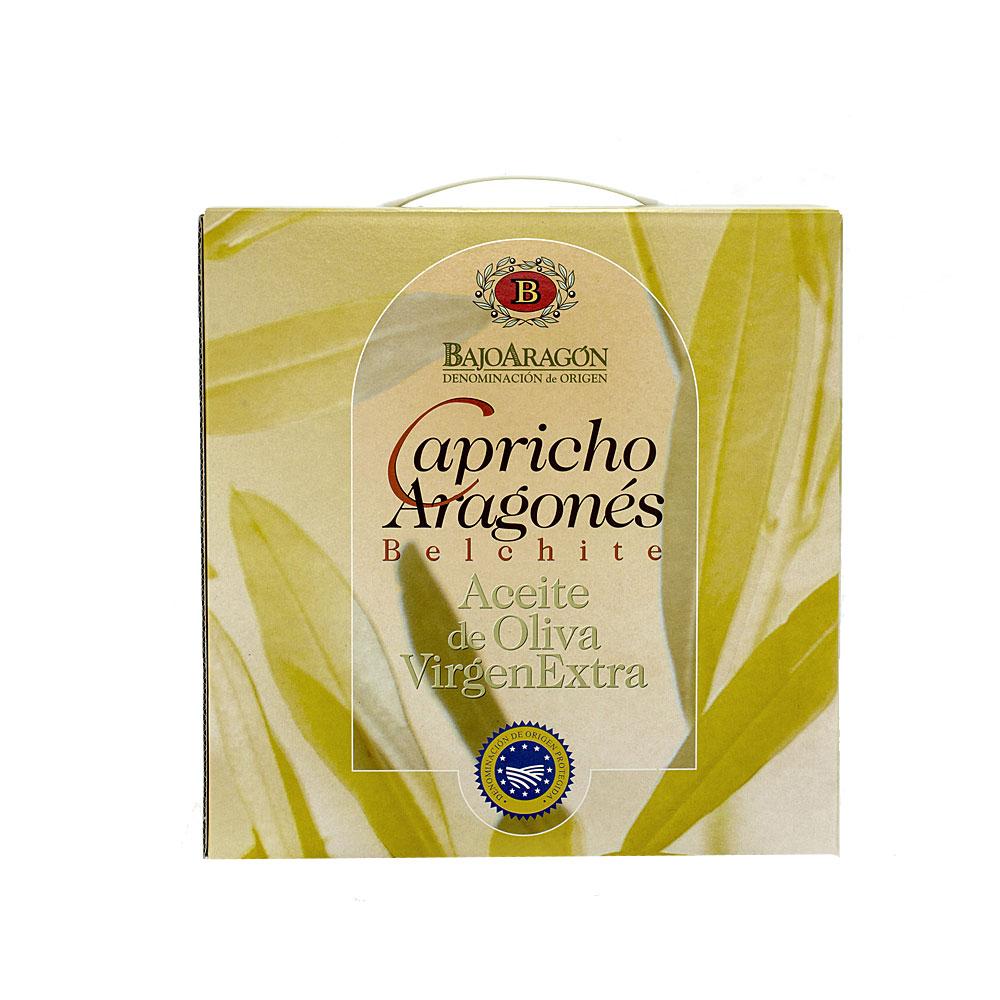 Pack gourmet de aceite Capricho Aragonés