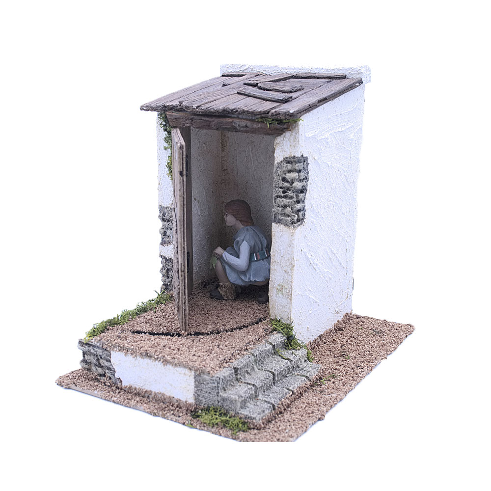 Monbelén Latrine with poop
