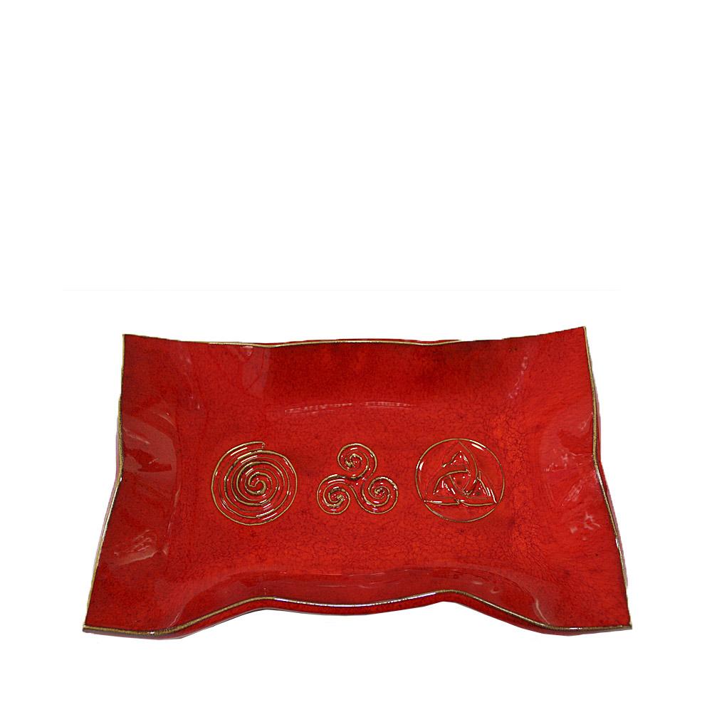Bandeja Roja esmaltada