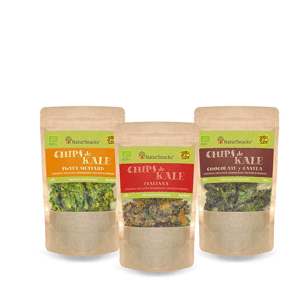 Surtido Primer Amor Chips de Kale