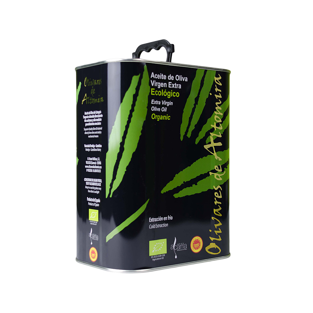 Aceite de Oliva Virgen Extra Ecologico DO 3 litros