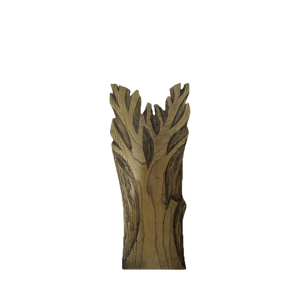 Cousas de madeira Relieve árbol en madera