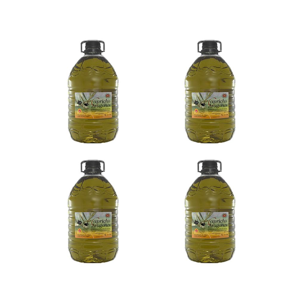 Lote de 4 botellas de 5l. Capricho Aragonés