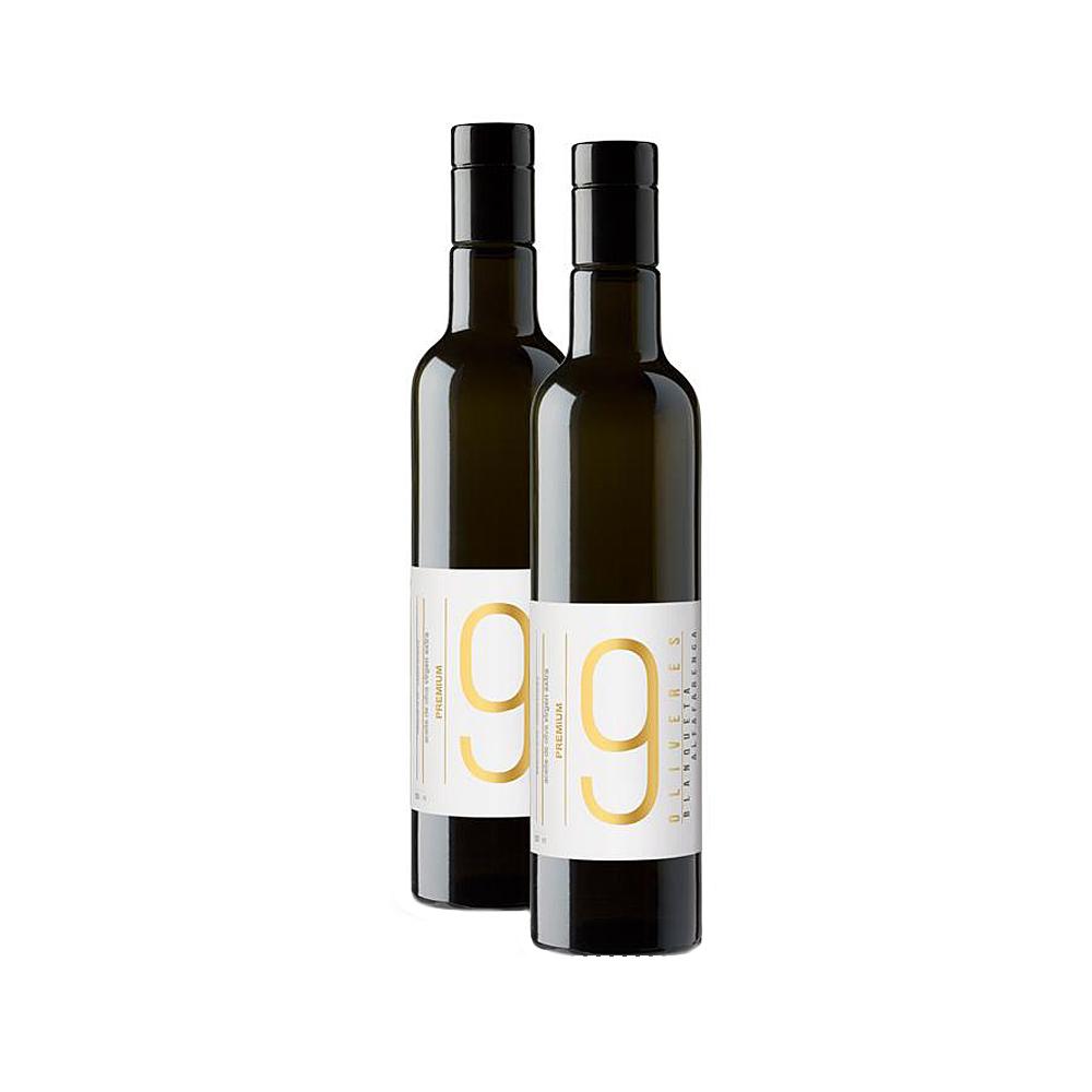 Pack de 2 botellas Premium de aceite de oliva de 500 ml